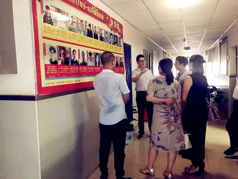 永州市工商联、女企业家商会一行前往牛耳教育林科大校区考察学习