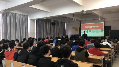 湖南软件职业学院400名学生参加牛耳教育互联网行业知识讲座