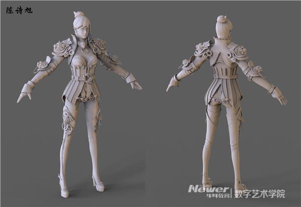 游戏人物模型设计